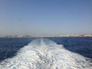 Tánger desde el barco