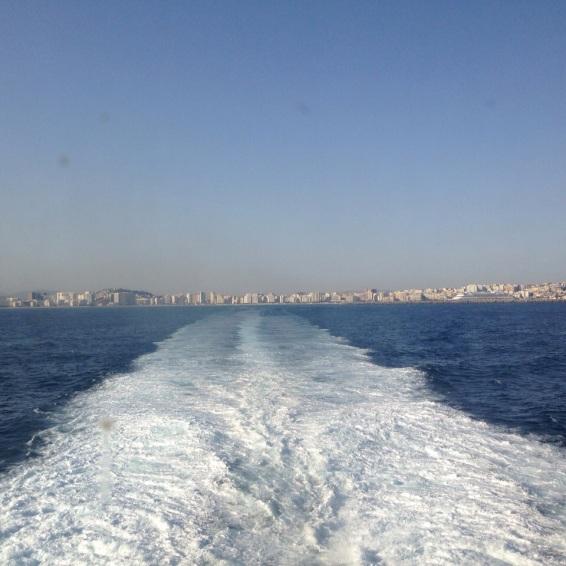Tánger barco